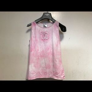 Chanel tank top size 38